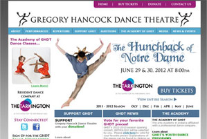Gregory Hancock Dance Theatre